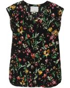 3.1 Phillip Lim Print Muscle Tee - Lyst