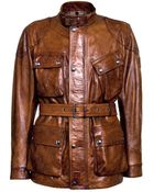 Belstaff Panther Leather Biker Jacket - Lyst