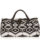 Topshop Aztec Buckle Holdall - Lyst
