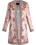 Isabel Marant Juliana Embellished Coat - Lyst