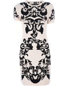 McQ by Alexander McQueen Patterned Dress - Lyst