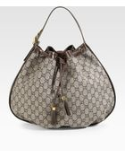 Gucci Interlocking Icon Medium Shoulder Bag - Lyst