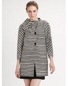 Kate Spade Cottonsilk Dorothy Coat - Lyst
