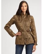 MICHAEL Michael Kors Hooded Army Jacket - Lyst