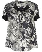 Theory Blouses - Lyst