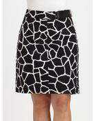 MICHAEL Michael Kors Printed Pencil Skirt - Lyst