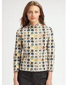 Akris Punto Facade Print Jacket - Lyst