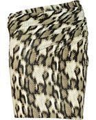 Just Cavalli Snake-print Jersey Skirt - Lyst