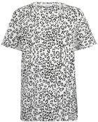 Balmain Leopard Print Tshirt - Lyst
