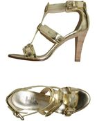 Belle By Sigerson Morrison Highheeled Sandals - Lyst