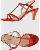 Entourage High-Heeled Sandals - Lyst
