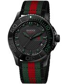 Gucci G-Timeless 40Mm Nylon Strap Watch-Ya126229 - Lyst