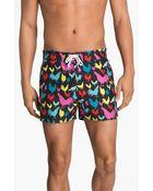 Original Penguin Printed Swim Shorts - Lyst