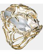 Alexis Bittar Ophelia Vine Encased Ring - Lyst