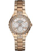 Guess W0111L3 Stainless Steel Chronograph Watch - For Women - Lyst