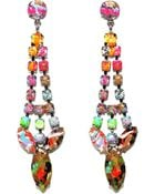 Tom Binns 'Riot Of Colour' Earrings - Lyst
