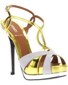Fendi Strappy Sandal - Lyst