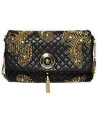 Versace Vanitas Studs Shoulder Bag - Lyst