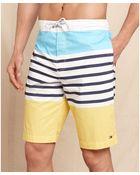 Tommy Hilfiger St Tropez Stripe Boardshort - Lyst