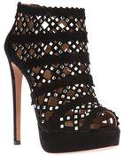 Alaïa Stiletto Stud Shoe Boot - Lyst