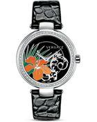 Versace Mystique Hibiscus Watch, 38Mm - Lyst