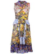 Duro Olowu Harlem Floral Print Dress - Lyst