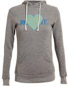 Rodarte 3D Heart Motif Hooded Sweatshirt - Lyst