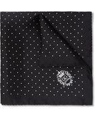 Dolce & Gabbana Swiss Dot Silk Pocket Square - Lyst