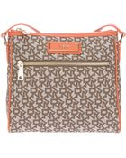 DKNY Town Country Printed Shoulder Bag - Lyst