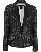 Marc By Marc Jacobs Patterned Blazer - Lyst