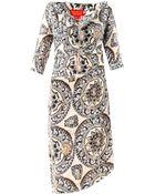 Vivienne Westwood Red Label Pan-Print Drape Dress - Lyst