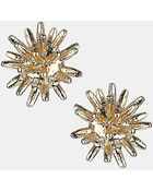 Topshop Spiked Ball Stud Earrings - Lyst