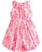J.Crew Girls Poplin Bubble Dress in Tea Rose Print - Lyst