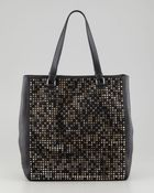 Christian Louboutin Panettone Spiked Shopper Tote Multi - Lyst
