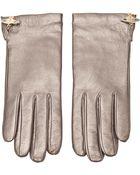 Vivienne Westwood Metallic Gloves - Lyst