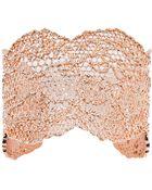 Aurelie Bidermann Lace Bracelet - Lyst