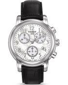 Tissot Dressport Women'S Mother Of Pearl Quartz Classic Sport Watch, 35Mm - Lyst