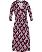 Diane von Furstenberg New Julian Two Wrap Dress - Lyst