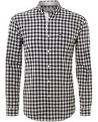 Lacoste Long Sleeved Gingham Check Shirt - Lyst