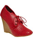 ModCloth Style Squared Wedge - Lyst