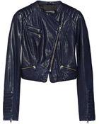 Mackage Rachel Quilted Leather Biker Jacket - Lyst