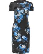McQ by Alexander McQueen Print Silk Dress - Lyst