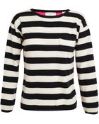 Chinti & Parker Contrasting Striped Cashmere Jumper - Lyst