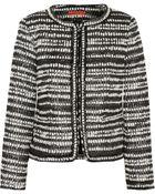 Alice + Olivia Kidman Tweed Jacket - Lyst