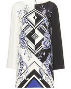 Emilio Pucci Silk Print Dress - Lyst