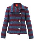 Vivienne Westwood Red Label Striped Boucle Wool Jacket - Lyst
