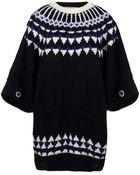 Sacai Crewneck Sweater - Lyst