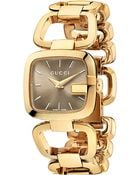 Gucci G- Collection Pvd Watch - Lyst