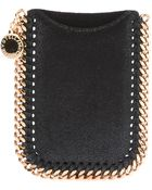 Stella McCartney Falabella Card Holder - Lyst