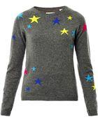 Chinti & Parker Star Intarsia Knit Sweater - Lyst